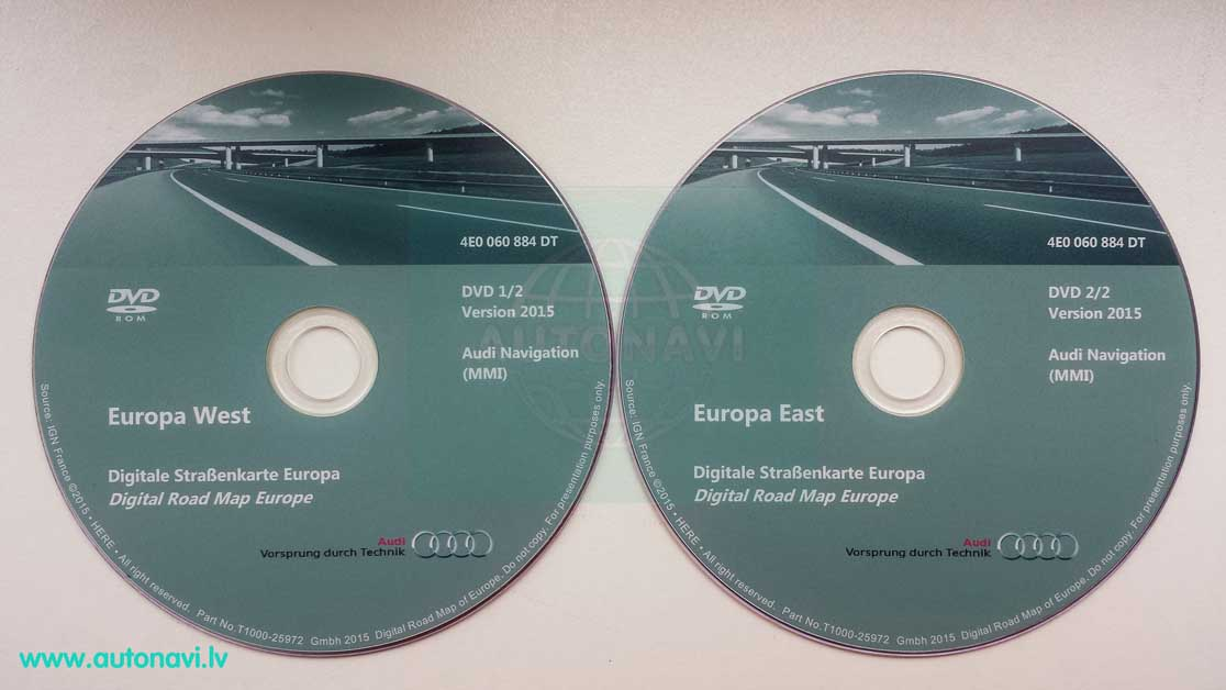 Audi MMI High 2G Europe 2015 DVD East West.jpg