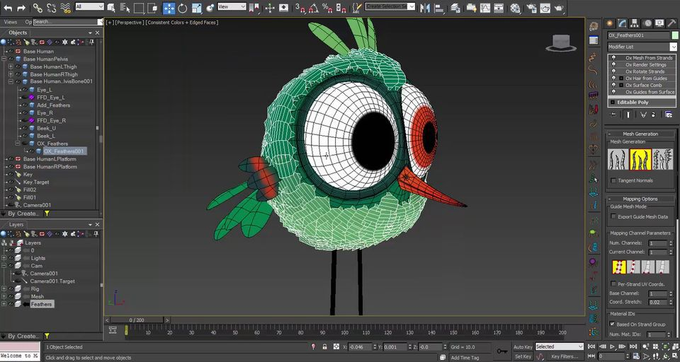 Making-a-feathered-bird-with-Ornatrix-in-3ds-Max-6.jpg